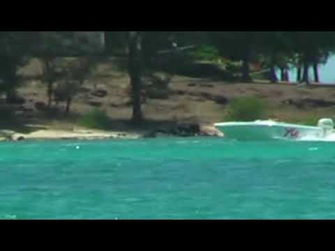 Offshore ski racing in Mauritius (part 1/2)