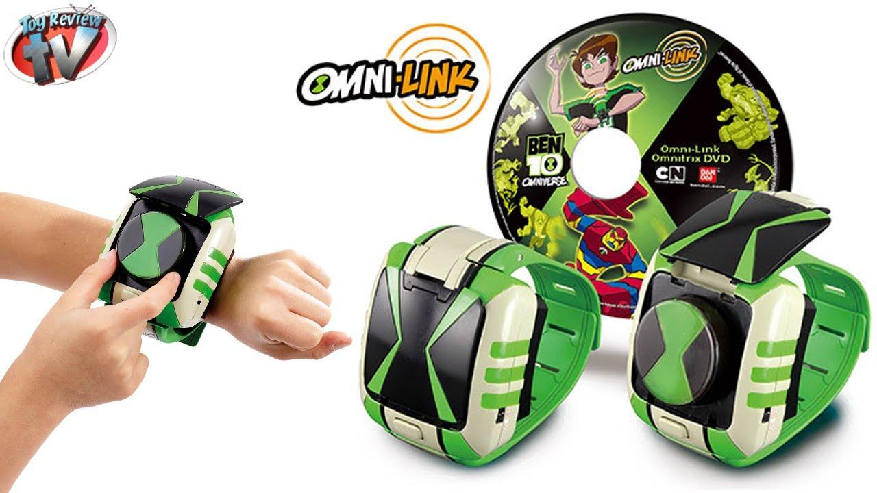 Ben 10 omniverse omni link omnitrix watch unboxing video - Montre benten ...