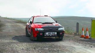 DiRT Rally / Subaru Impreza 1995 / Powys, Wales / Cockpit View