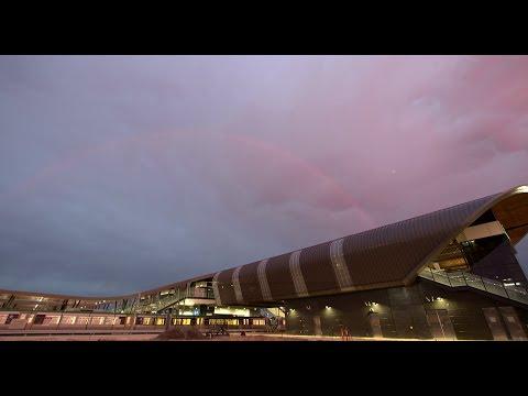 Perth Stadium Station Rail Infrastructure Test