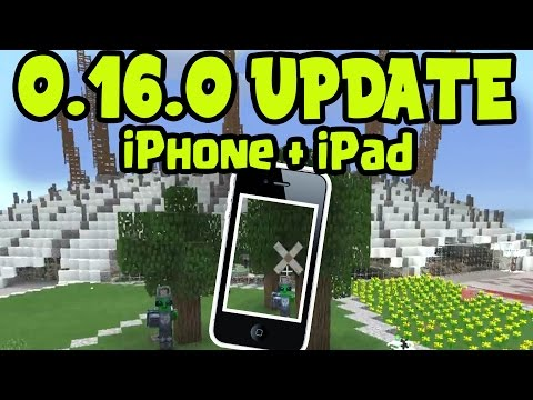 MCPE 0.16.0 iOS RELEASE DATE DELAY? Minecraft Pocket Edition 0.16.0 - iPhone, iPad, iOS Release Date