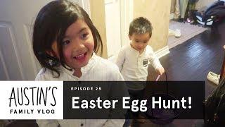 Easter Egg Hunt! | Austin Vlog | HiHo Kids