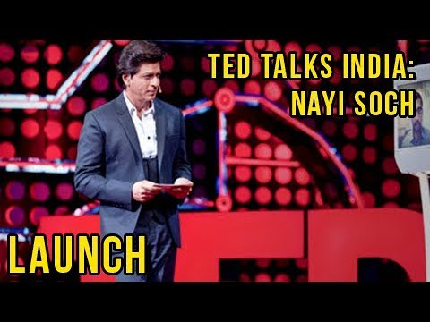 Star Plus New Show TED Talks India - Nayi Soch: Shahrukh Khan Launches Show | Press Conference Uncut thumbnail