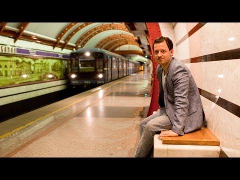 Метро Санкт-Петербурга поездка в питерском метрополитене самые красивые и новые станции в СПб