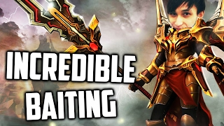 INCREDIBLE BAITING BY AXE ◄ SingSing Moments Dota 2 Stream