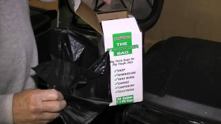Awesome Diy Tip. Make Your Own Leaf And Trash Bag Dispenser From The Box They Come In.