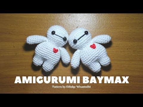 AMIGURUMI BAYMAX CROCHET TUTORIAL  | TUTORIAL BONEKA RAJUT