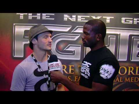 "Brad ""One Punch"" Pickett Interview with Din Thomas at UFC Fan Expo"