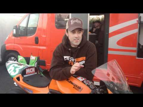 Chad's 2012 Isle of Man TT blog - the first day