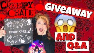 Creepy Crate Horror Subscription Unboxing | Giveaway | Q&A