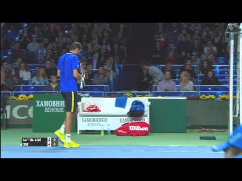 Moscow 2014 Final Highlights Cilic Bautista Agut