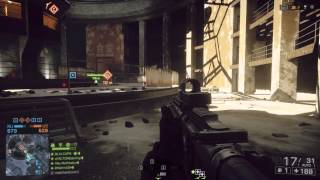 Battlefield 4 Operation Locker - Going HAM with the M416 40-2 gameplay w/ levelcap and matimi0