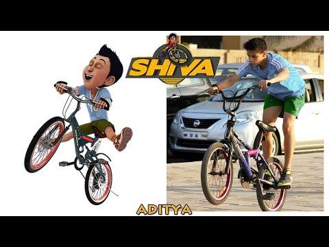 Shiva Cartoon Characters In Real Life
