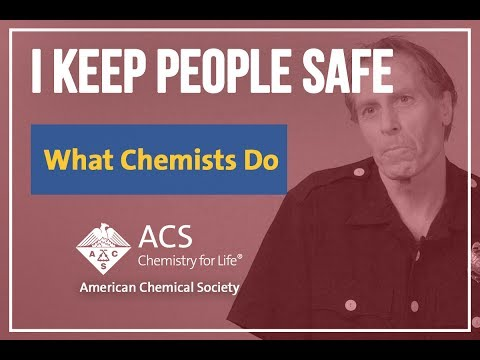 What Chemists Do: Dan Keenan, Hazardous Material Specialist- Oakland FD, Haztech Systems, Inc