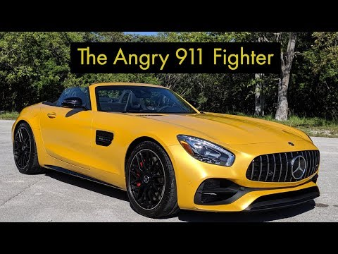 2019 AMG GT C Roadster Test Drive Review: Anything But Subtle