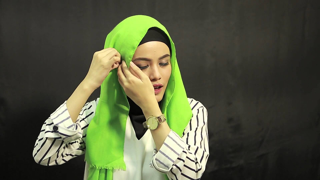 Tutorial Hijab Anting Ala Finalis Sunsilk Hijab Hunt 2015 Wiedya