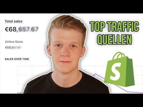 Top 5 Besucher Quellen für Shopify Dropshipping ✅ (Gratis/Paid Traffic)