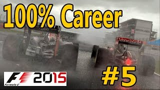 F1 2015 Gameplay PC Career 100% Race Monaco, 1080p 60fps Cockpit Cam