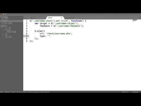 Easy AJAX With jQuery