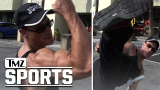 Jean-Claude Van Damme -- Here's How to Get Ripped | TMZ Sports