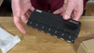 Anker Uspeed USB 3.0 Hub - Unboxing + Erfahrungsbericht / Test