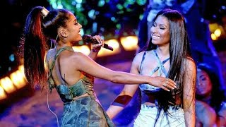 Ariana Grande ft Nicki Minaj  Performance Side To Side Live at the AMA