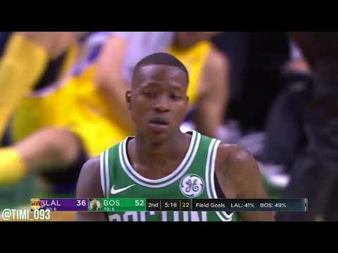 Terry Rozier Highlights vs Los Angeles Lakers (14 pts, 8 reb)