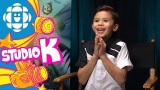 Tony Talks with Deric McCabe from A Wrinkle in Time   CBC Kids