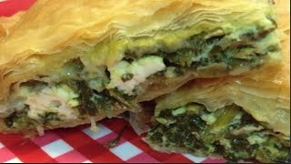 Spanikopita Greek Spinach Pie Recipe ~ Noreen's Kitchen