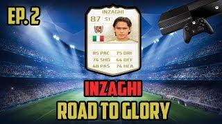 FIFA 14 INZAGHI Road To Glory #2! vs KSI?!