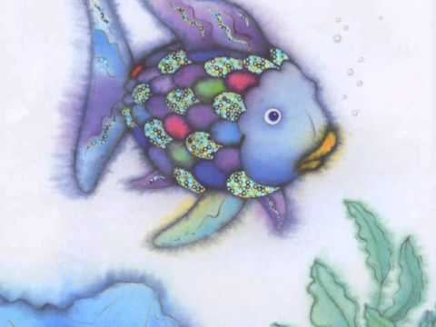 Book review the rainbow fish by marcus pfister youtube for The rainbow fish