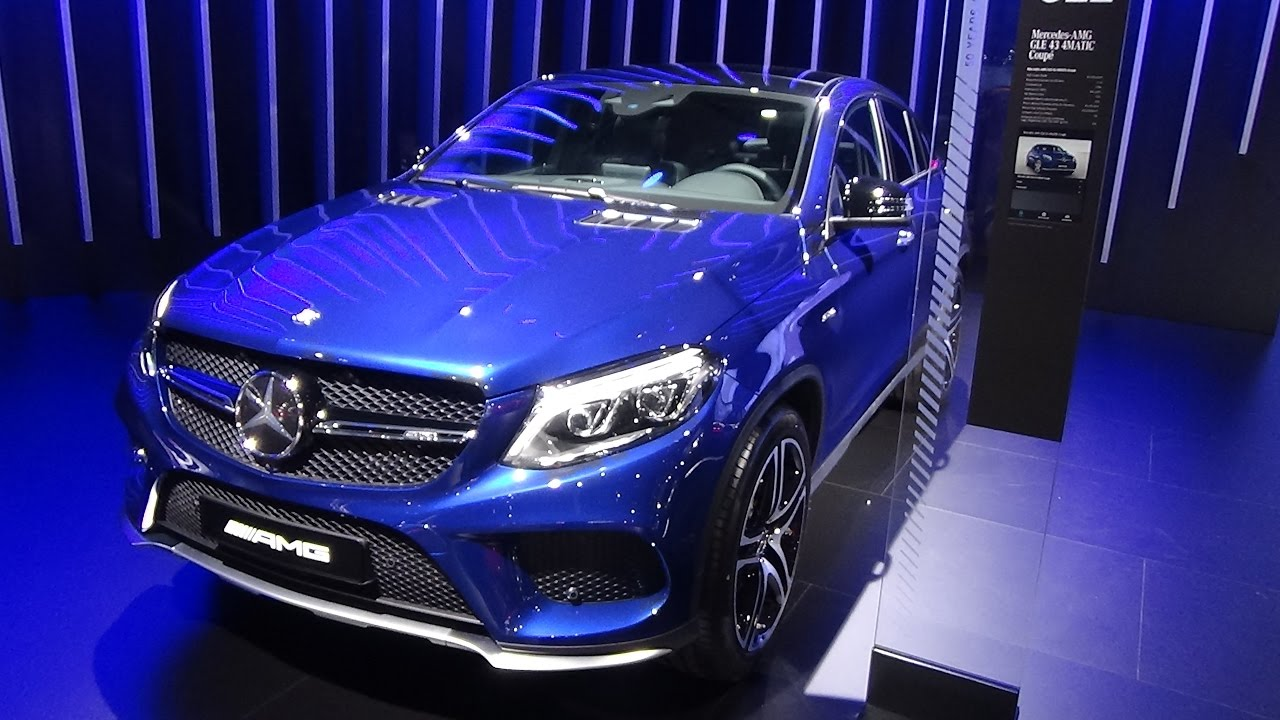 2017 Mercedes-AMG GLE 43 4Matic Coupé - Exterior and ...