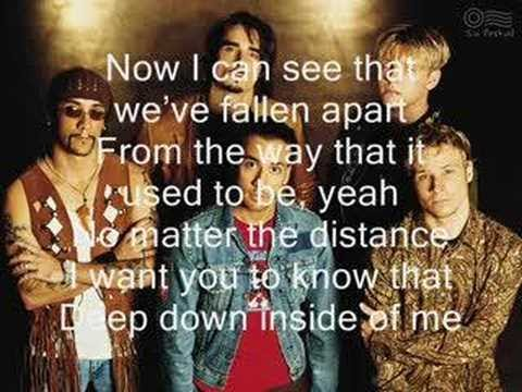 Backstreet Boys - I want it that way *with lyrics*