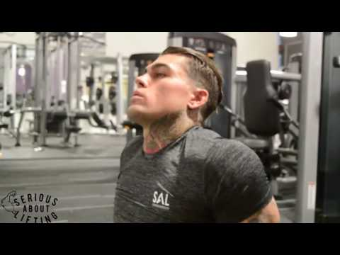 Stephen James going beast mode SERIOUS ABOUT LIFTING