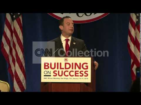 RNC:REINCE PREBIUS ELECTED TO 3RD TERM AS CHAIRMAN