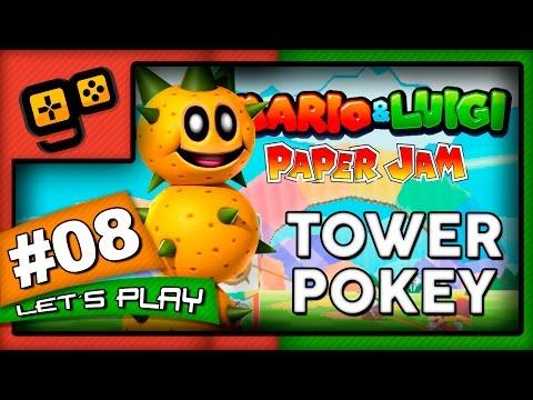 Mario & Luigi Paper Jam - Parte 8 - Tower Pokey