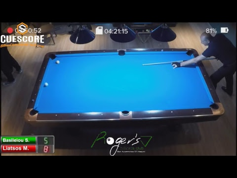 Rogers Billiards Club B' Division Tournament Day 3