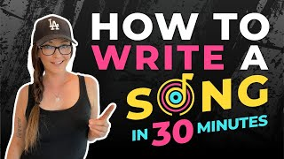 How to Write a S๐ng in 30 Minutes! (How to topline to a pop track like a pro!)
