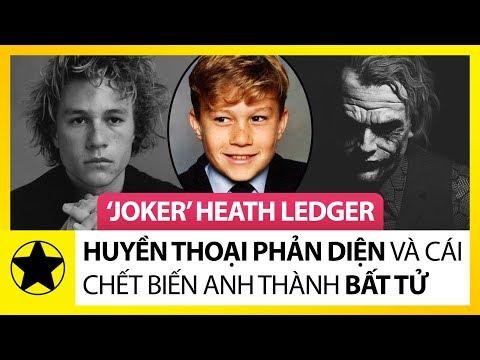 """""""Joker"""" Heath Ledger – Huyền Thoại """"Phản Diện"""" Và Cái Chết Biến Anh Thành Bất Tử"""