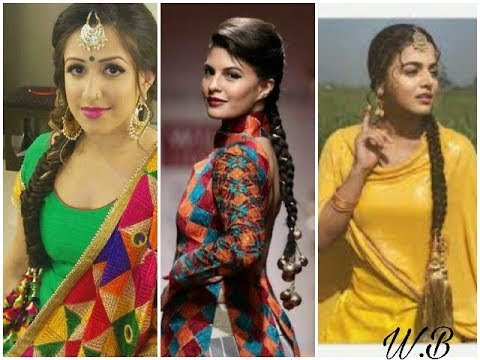 Bridal Paranda Hair For Punjabi Style 2018 2019 Youtube