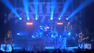 (HD) Steel Panther -  Ben (FAN)  plays drums to eyes of a panther live at glasgow O2 academy  2015