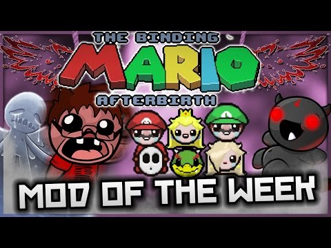 The Binding of Isaac: Afterbirth - Mod of the Week: MARIO AND BUMBOS GREAT ADVENTURE!