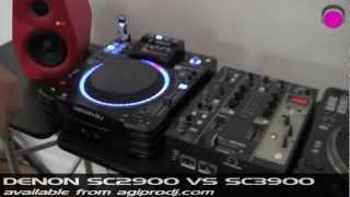 DENON SC2900 vs SC3900 | agiprodj.com