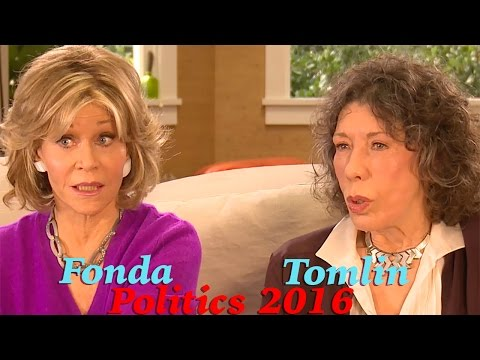 Emmywatch Clip: Lily Tomlin & Jane Fonda Discuss 2016 Politics