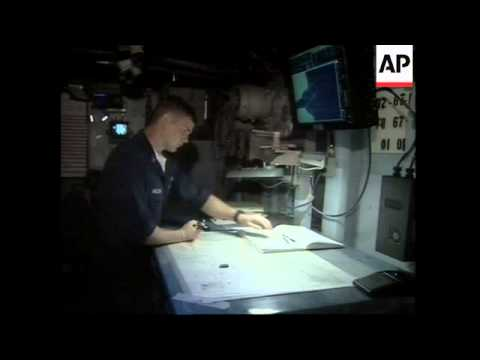Operations aboard the USS Mount Whitney in the Gulf of Aden
