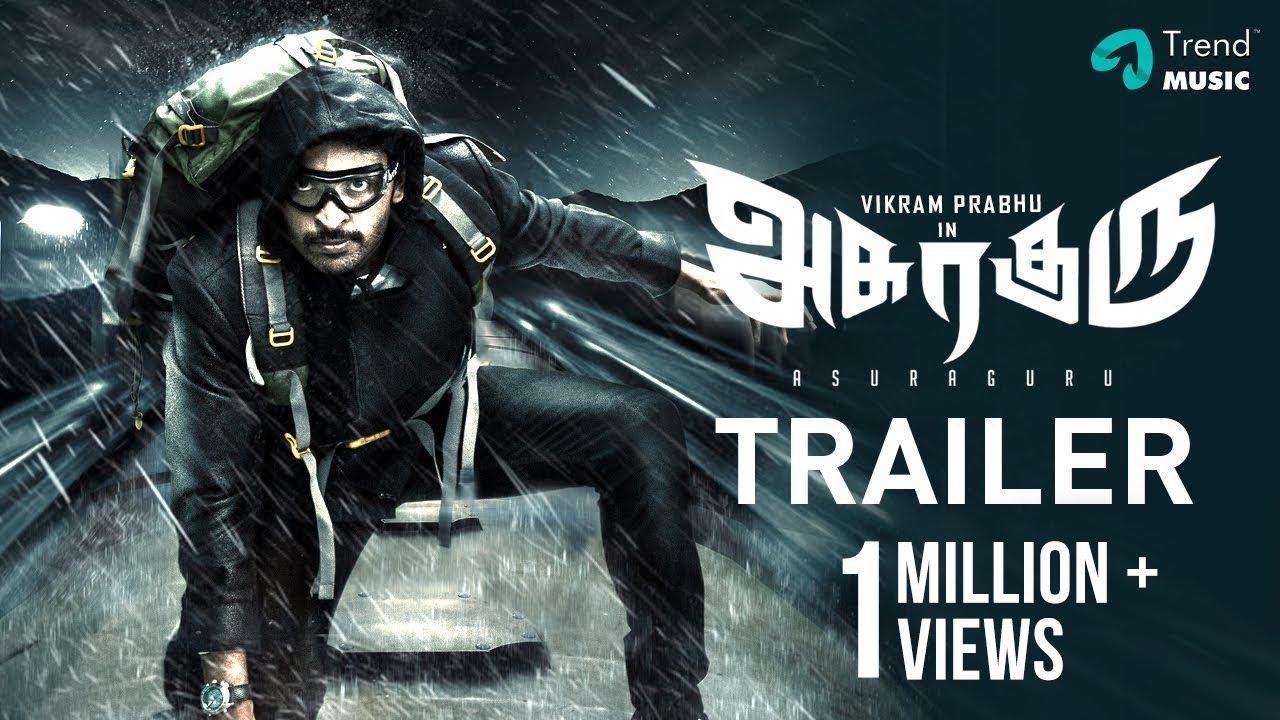 Asuraguru Tamil Movie Trailer #2 | Vikram Prabhu | Mahima Nambiar | Yogi Babu | Trend Music