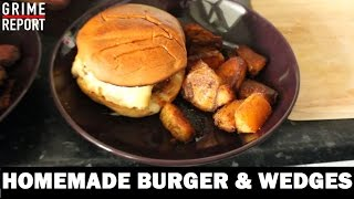 Whippin In Da Kitchen (Cooking Show) [Ep 2] Homemade Burgers | Grime Report Tv