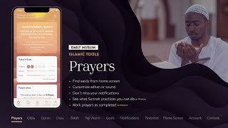 Short: Daily Muslim: a revolutionary new Islamic app with Prayer Times, Qibla Compass, Quran & more! screenshot 3