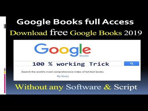 Download Google Free BOOKS (2019) || 100% Working TRICK || EPUB & PDF || No Software, No Script