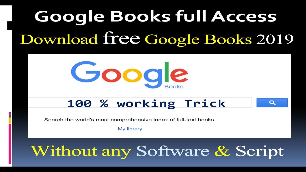 Download Google Free BOOKS (11)  11% Working TRICK  EPUB